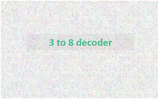 Construct 3 To 8 Decoder With Truth Table And Logic Gates